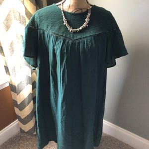Green old navy dress - extra large Tall NWT